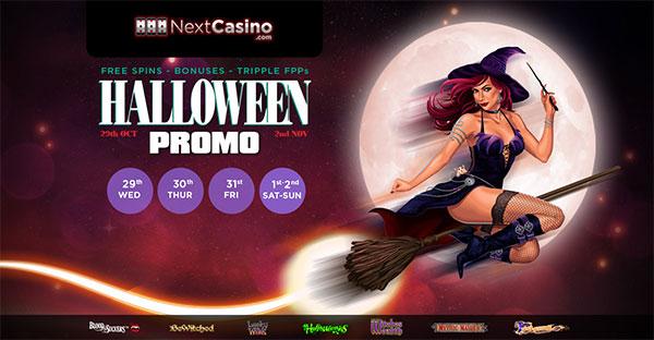 NextCasino Halloween