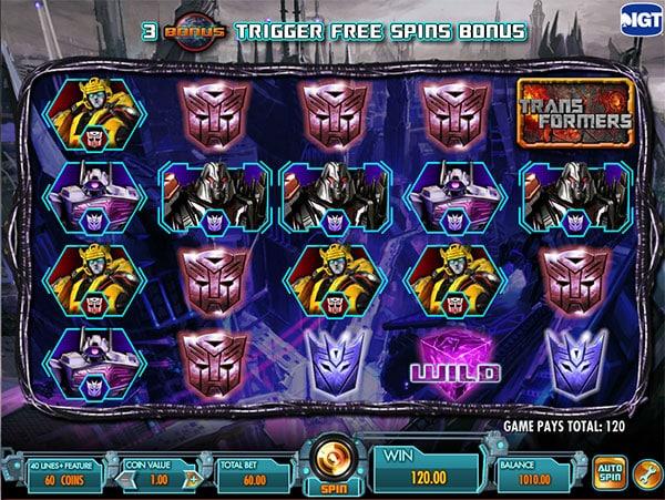 Transformers IGT