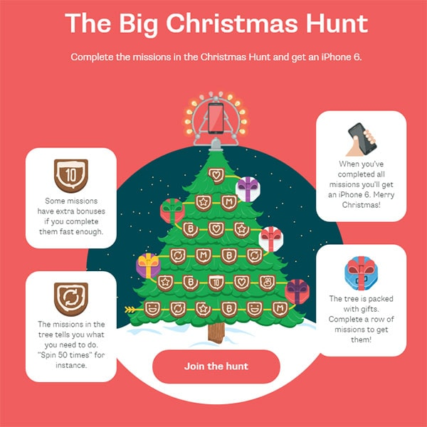 Casumo Big Christmas Hunt
