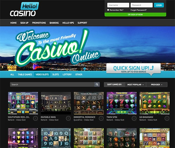 low deposit casino online