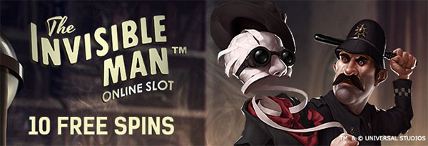 Invisible Man Free Spins