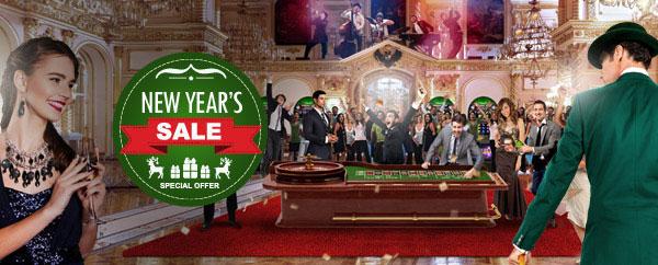 Mr Green Casino New Years Sale