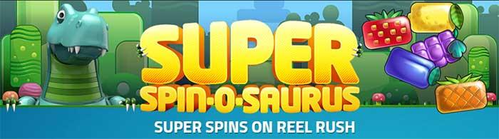 Superspins Luckydino