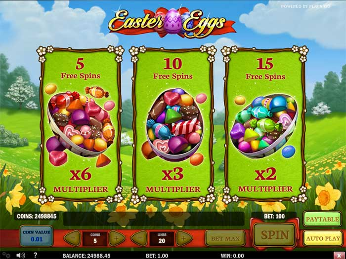 Easter Eggs Slot Play