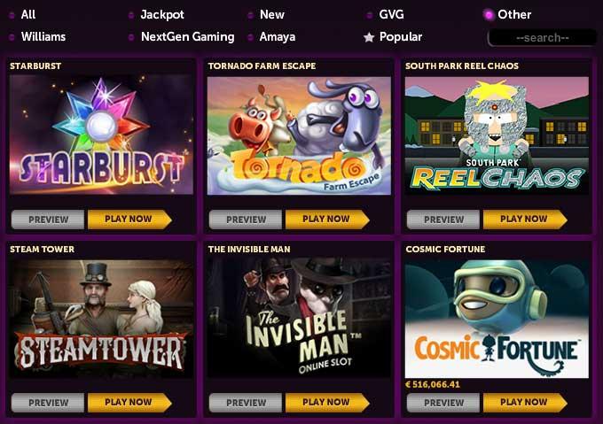 NetEnt Slots Slots Magic Casino