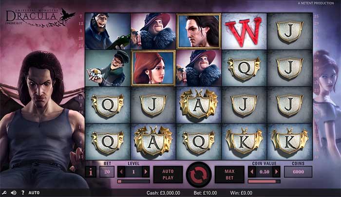 Dracula Online Slot NetEnt