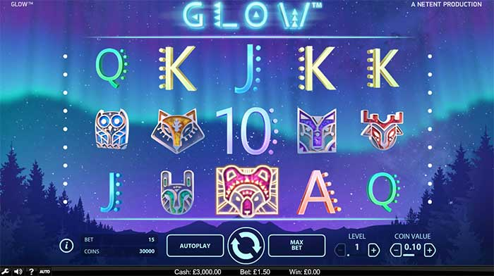 Glow Slots - Play for Free Online with No Downloads