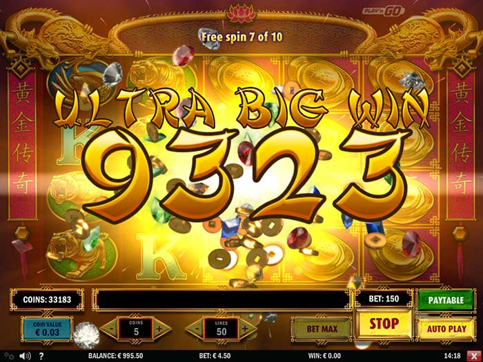 Golden Legend Slot Play'n Go