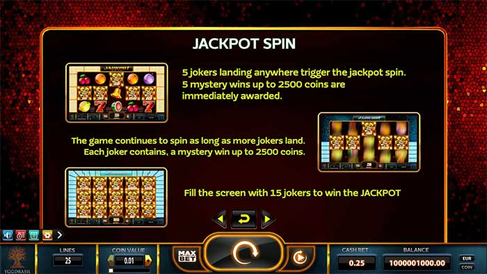 Joker Millions Slot