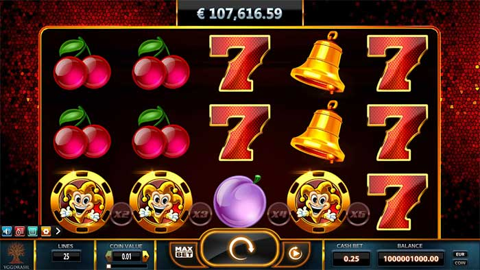 Fruits Kingdom™ Slot Machine Game to Play Free in Euro Games Technologys Online Casinos