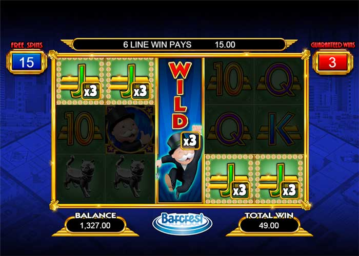 Monopoly Big Event Slot Barcrest