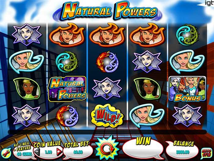 Natural Powers Slot