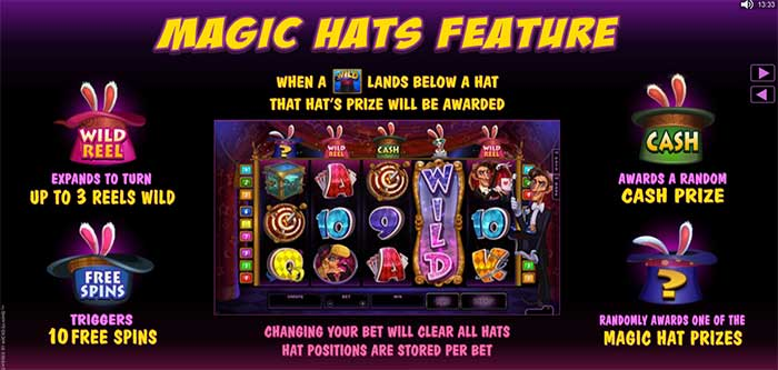 Rabbit in the Hat Slot Online Slot