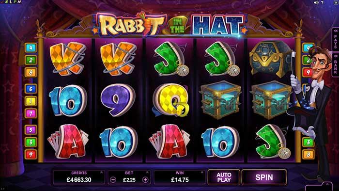Rabbit in the Hat online slot
