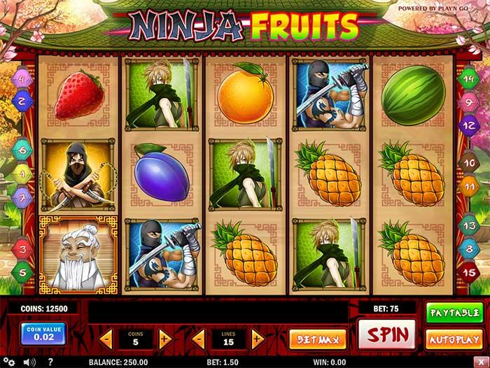 Ninja Fruits Slot Free Spins