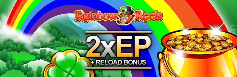 Rainbow Reels Reload Bonus
