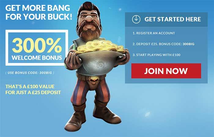 Guts casino Exclusive Welcome Bonus