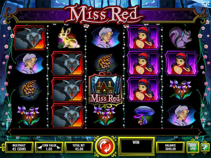 Miss Red Slot IGT