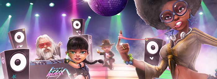Neon Staxx Free Spins Casino Saga