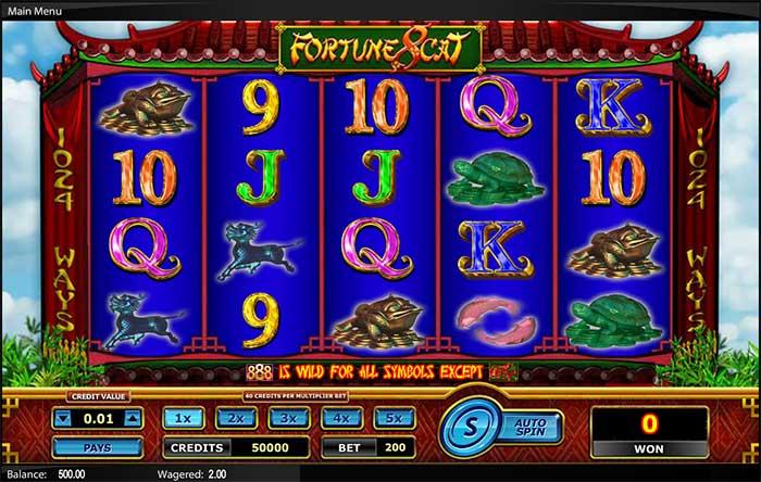 Fortune 8 Cat Slot Amaya