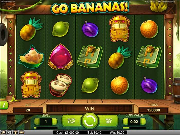 Go Banana's Slot NetEnt