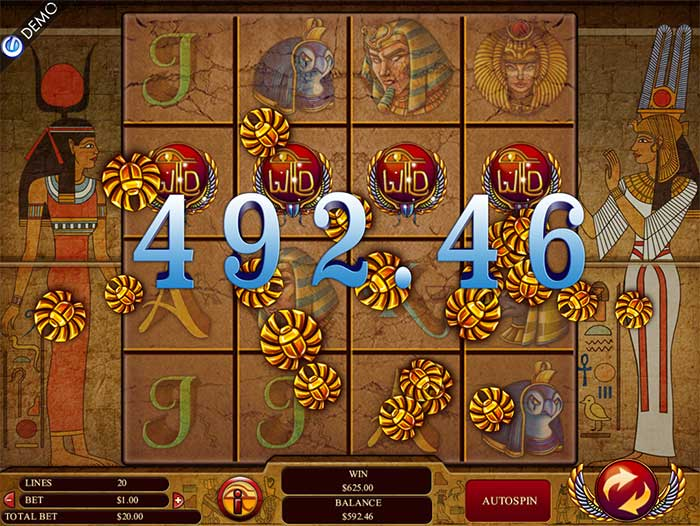 Gods Of Giza Slot Genesis Gaming