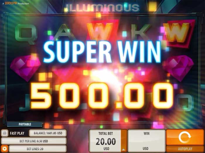 Illuminous Slot Quickspin