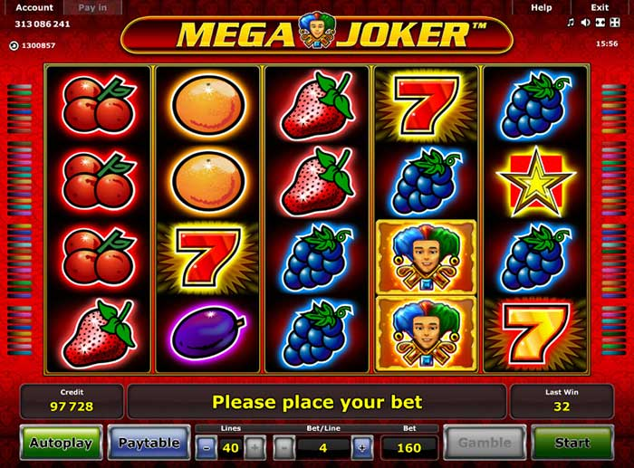 Mega Joker Slot Novomatic