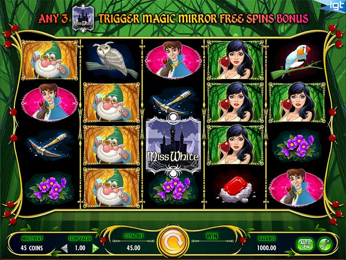 Miss White Slot IGT