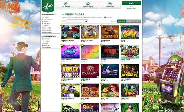 Play'n Go Slot Mr Green Casino