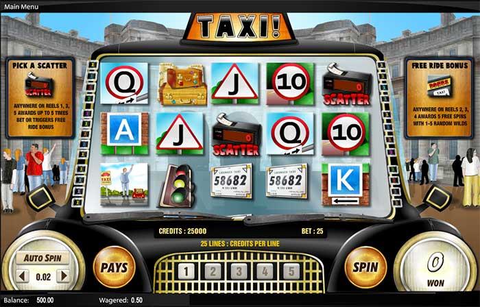 Taxi Slot Amaya