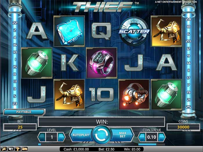 Thief Slot NetEnt