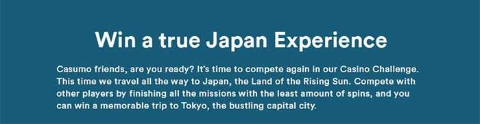 Casumo Japan Challenge