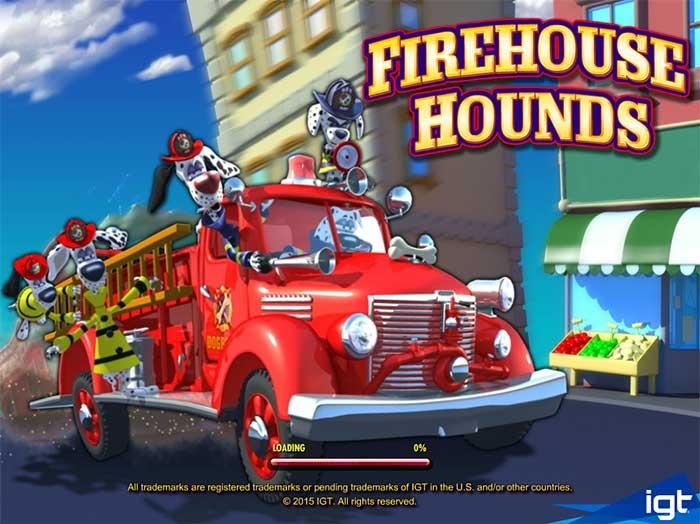 Firehouse Hounds Slot IGT