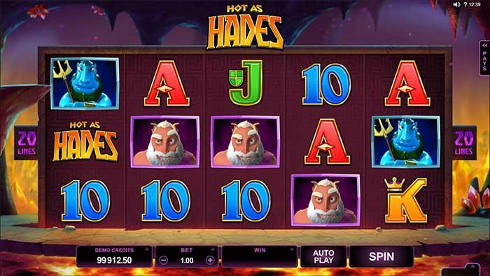 Hot as Hades Slot Microgaming