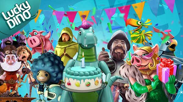 LuckyDino Birthday Promotions