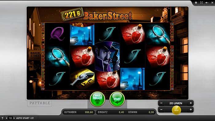 221b Baker Street Slot Merkur