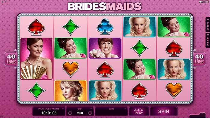 Bridesmaids Slot Microgaming