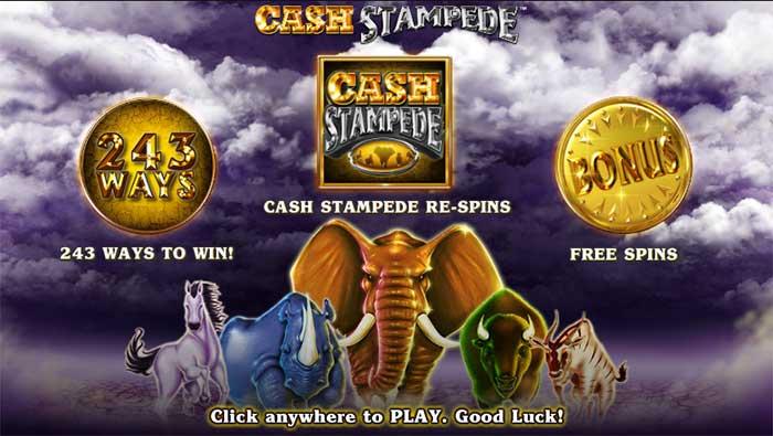 Cash Stampede Slot Nextgen