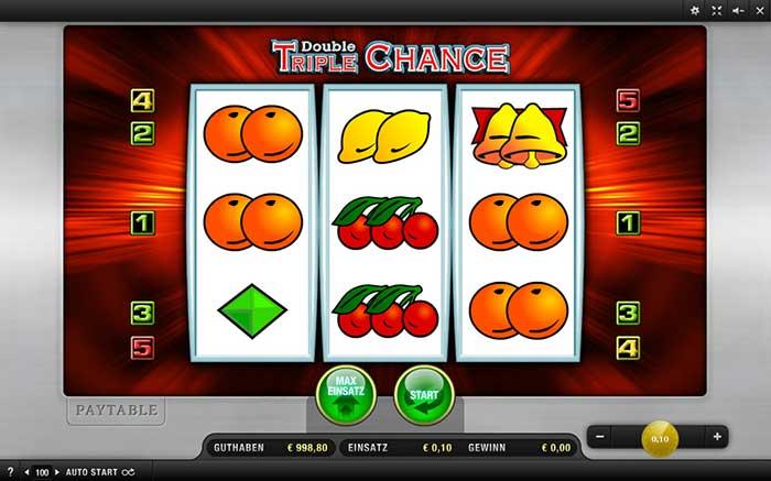 Double Triple Chance Slot Merkur