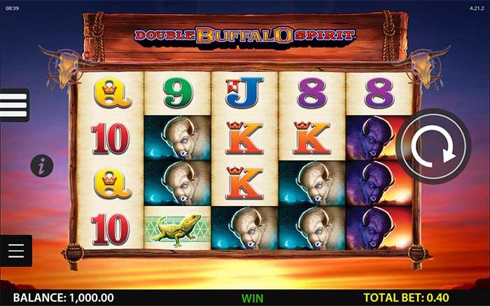 Double Buffalo Spirit Slot WMS