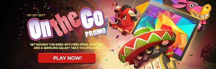 NextCasino On The Go Promotion