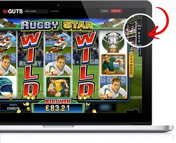 rugby star online slot achievements