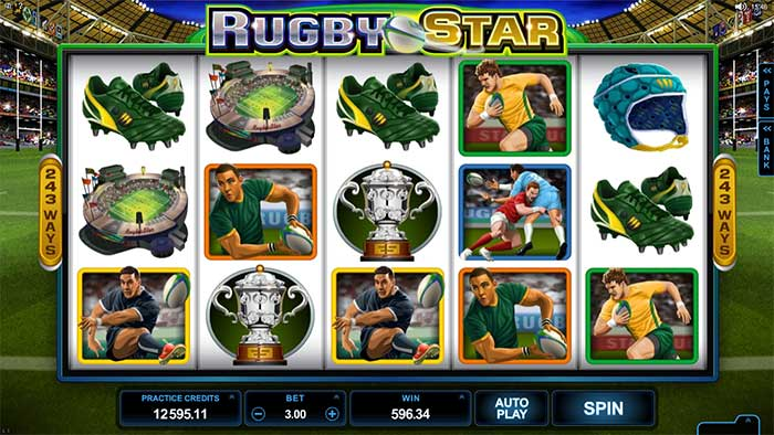 Rugby Star Slot Microgaming