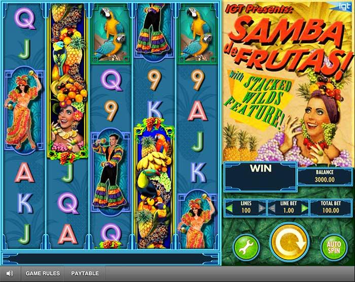 Samba de Frutas Slot IGT