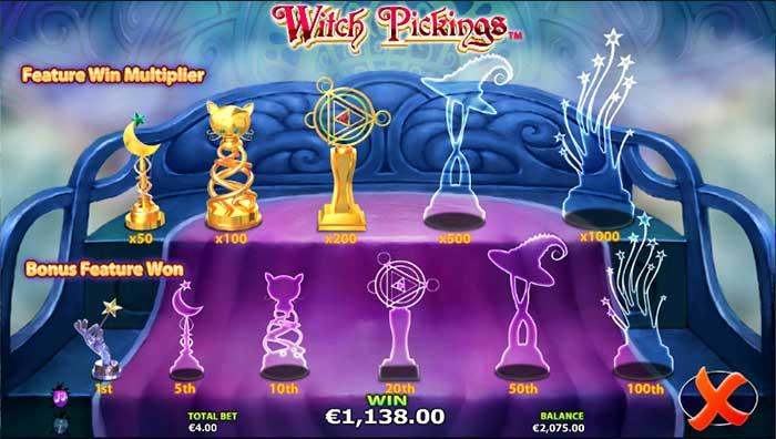 Witch Pickings Slot Nextgen