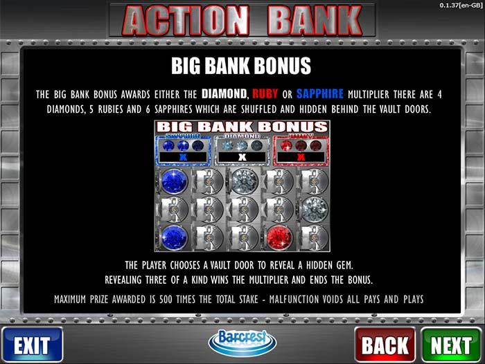 Action Bank Slot Barcrest