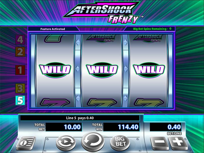 Aftershock Frenzy WMS