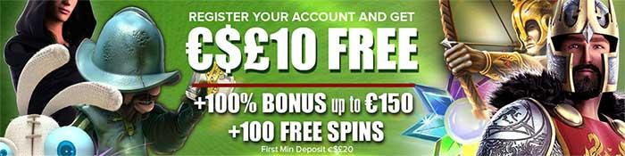 Casinoluck 10 free no deposit