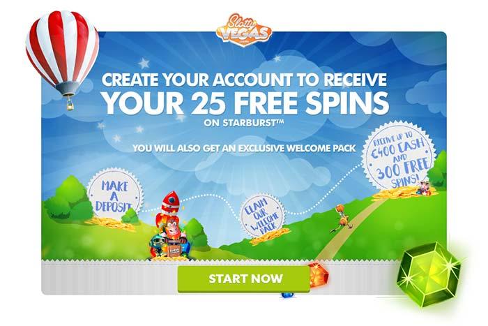 Slotty Vegas Exclusive Welcome Bonuses